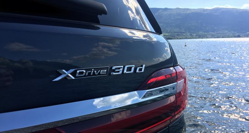 Essai du BMW X7 : une calandre et beaucoup d'espace