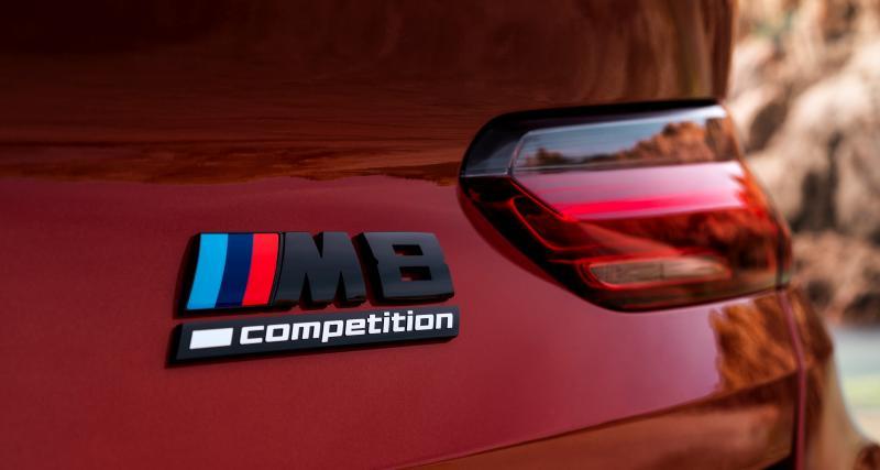 BMW M8 Competition : toutes les photos de la GT en coupé et cabriolet