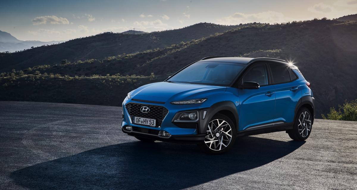 Hyundai Kona : le SUV citadin passe à l'hybride