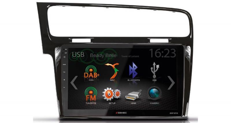 Zenec dévoile un nouvel autoradio multimédia grand écran à petit prix