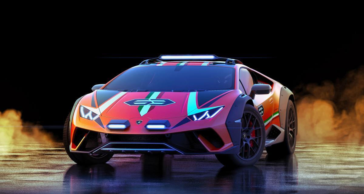 Lamborghini Sterrato Concept : le off-road en mode fun