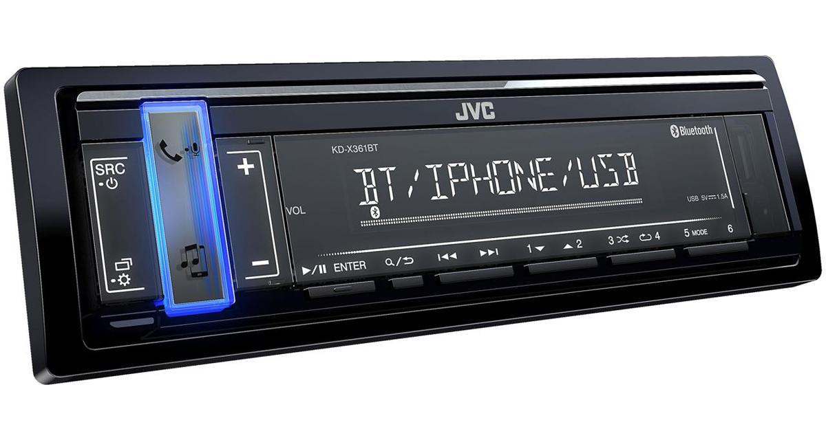 Un autoradio JVC dédié aux sources nomades avec un rapport qualité/prix canon