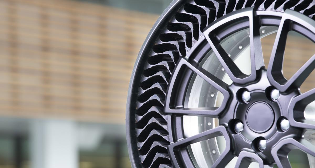 Uptis : la révolution du pneu sans air par Michelin