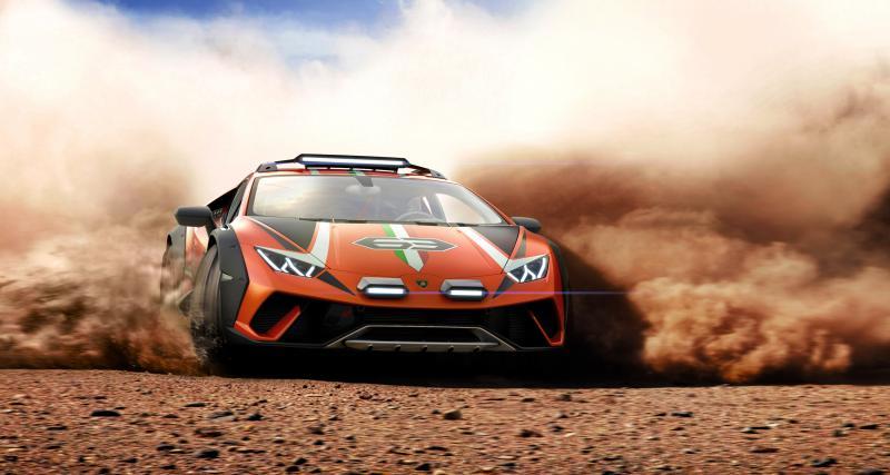 Lamborghini Huracan Sterrato : le concept en 3 points