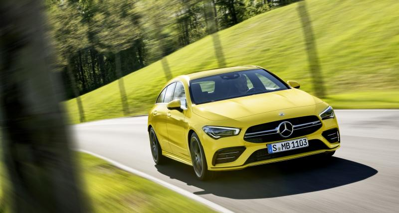 Mercedes-AMG CLA 35 Shooting Brake : le break de chasse en trois points