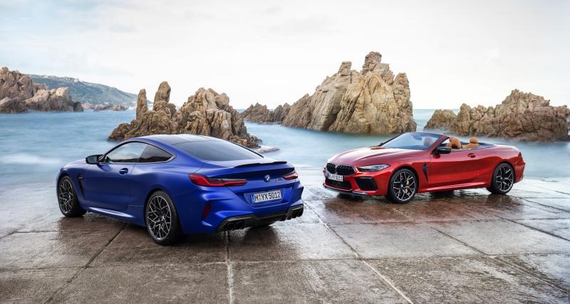 Les BMW M8 Competition Coupé et Cabriolet en trois points