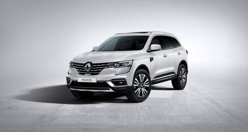 Renault Koleos : le restylage 2019 en trois points