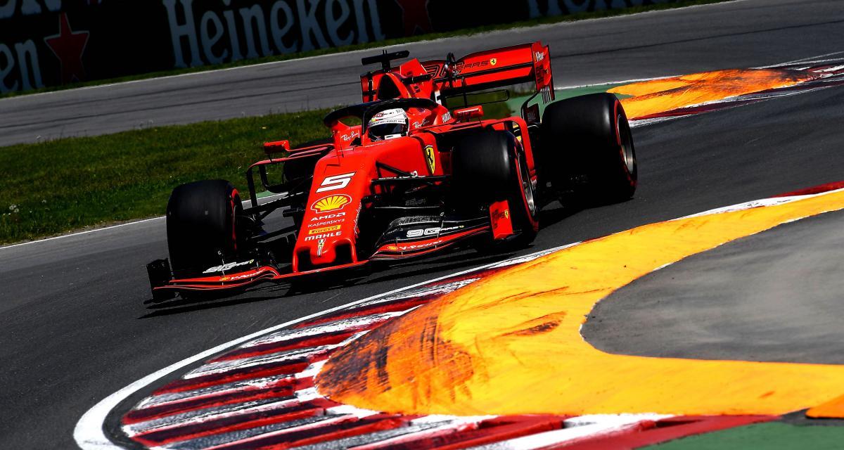 GP du Canada de F1 : Vettel en pole position, la grille de départ