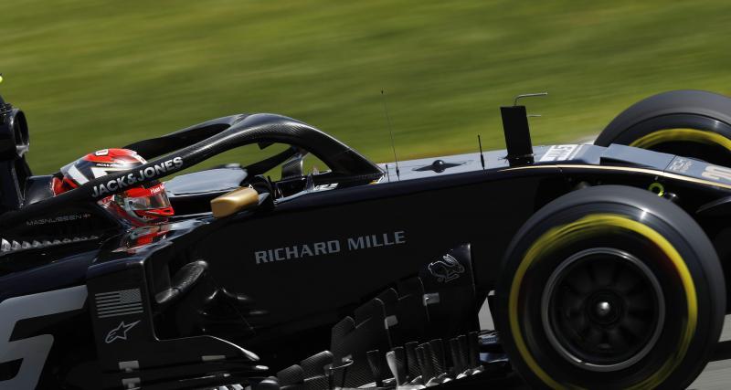 Formule 1 - GP du Canada : le crash de Kevin Magnussen en video