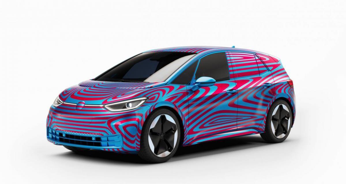 Volkswagen ID.3.: même camouflée, c'est déjà un succès