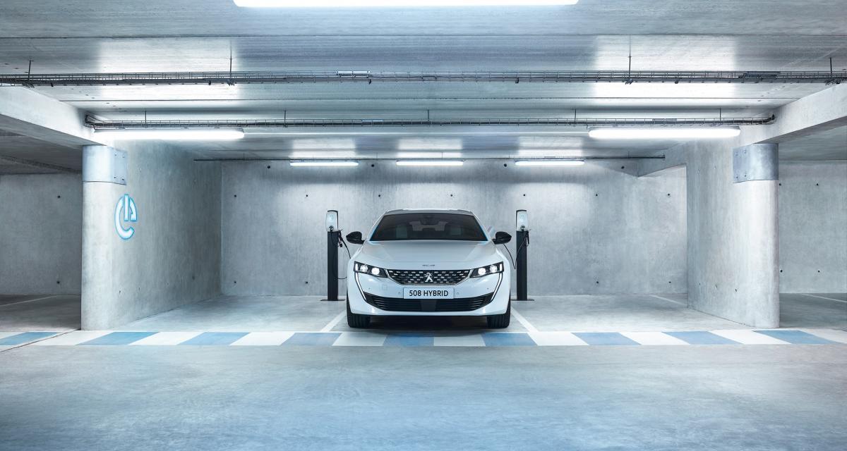 La Nouvelle Peugeot 508 hybride rechargeable PHEV dévoile ses prix