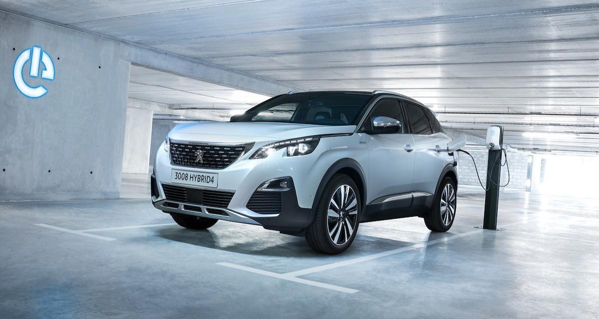Peugeot 3008 Hybride rechargeable: les prix et les équipements du crossover hybride