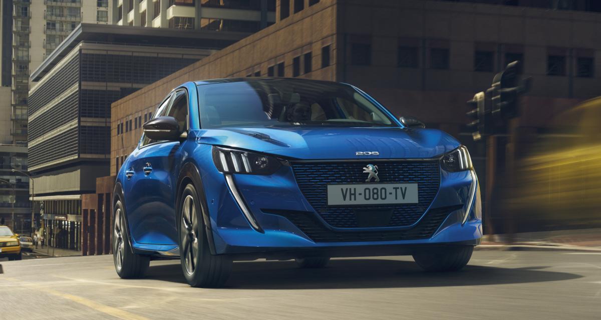 Peugeot e-208: les prix de la citadine électrique