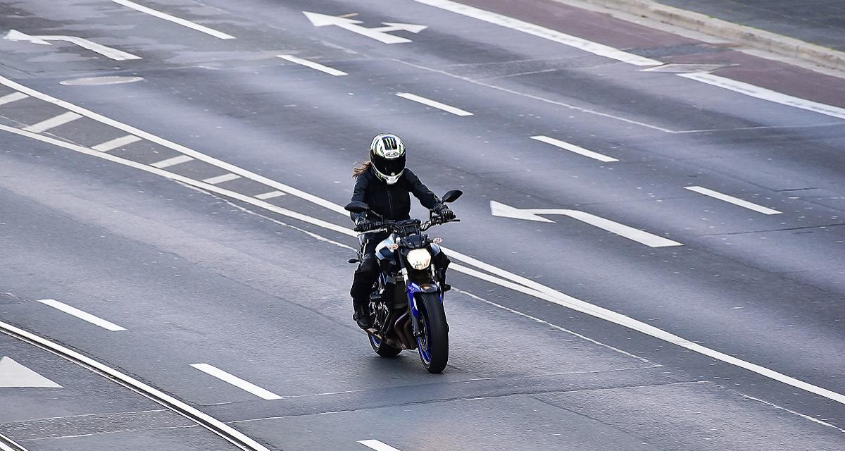Deux motards flashés à 205 km/h