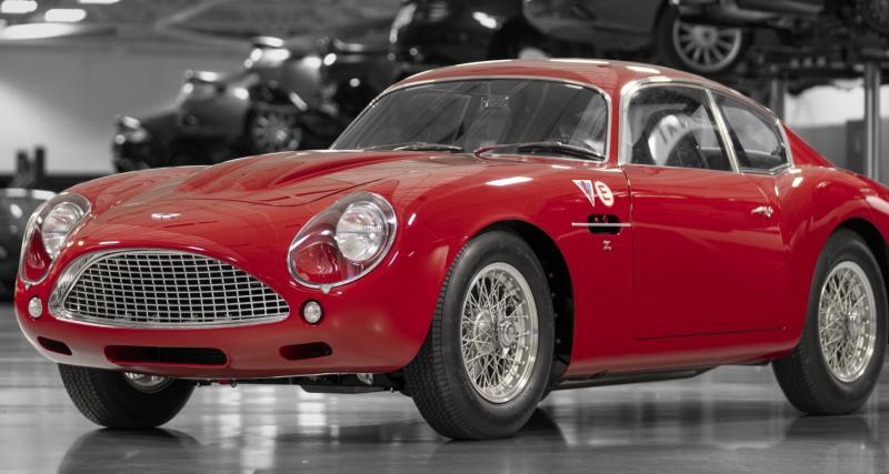 Aston Martin DB4 GT Zagato Continuation : retour au Mans pour un mythe