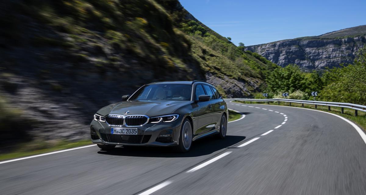 BMW Série 3 Touring : toutes les photos de la Série 3 break