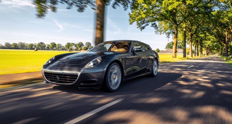 Vandenbrink Design : quand la Ferrari 612 Scaglietti devient un break de chasse