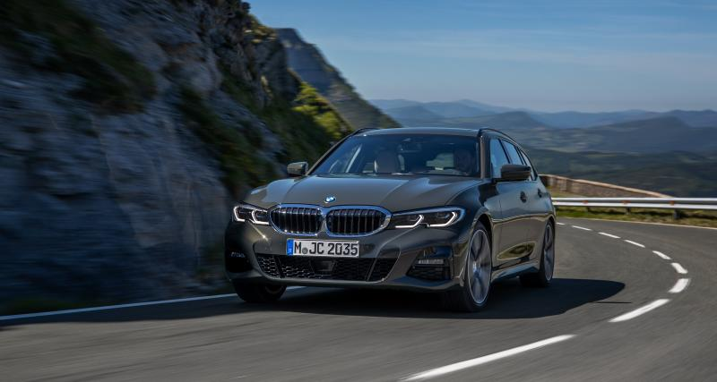 BMW Serie 3 Touring : le break bavarois en vidéo