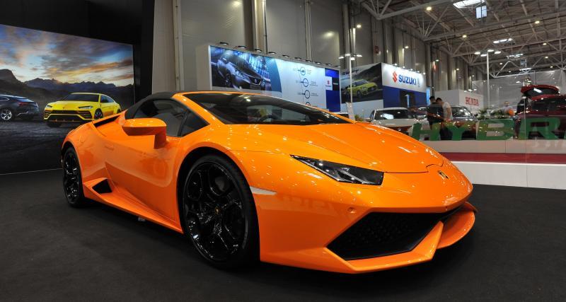 Flashé à 228 km/h en Lamborghini Huracan