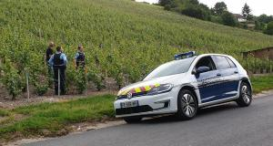 Volkswagen e-Golf : les gendarmes de l'Aisne en Golf électrique