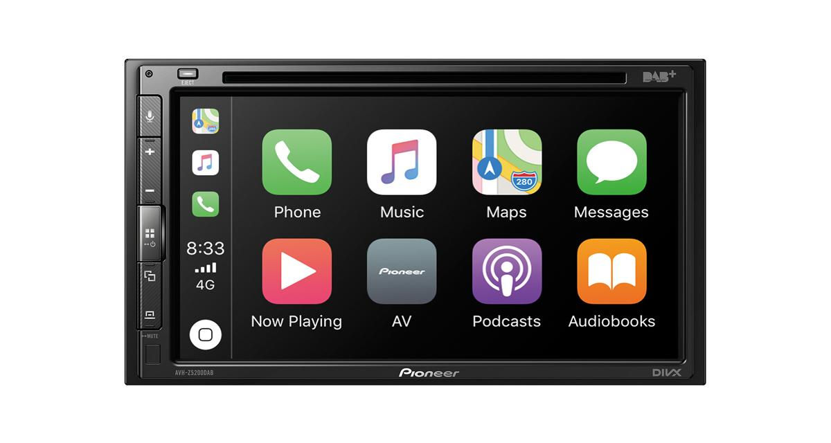 Pioneer commercialise un autoradio CarPlay et Android Auto offrant un très bon rapport qualité/prix
