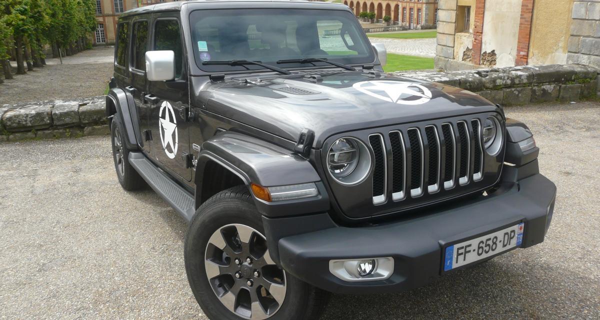 Jeep Wrangler Unlimited : les photos de notre essai