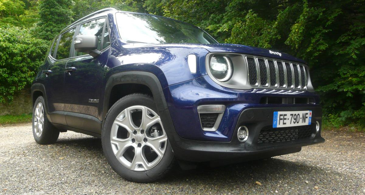 Jeep Renegade restylé : les photos de notre essai