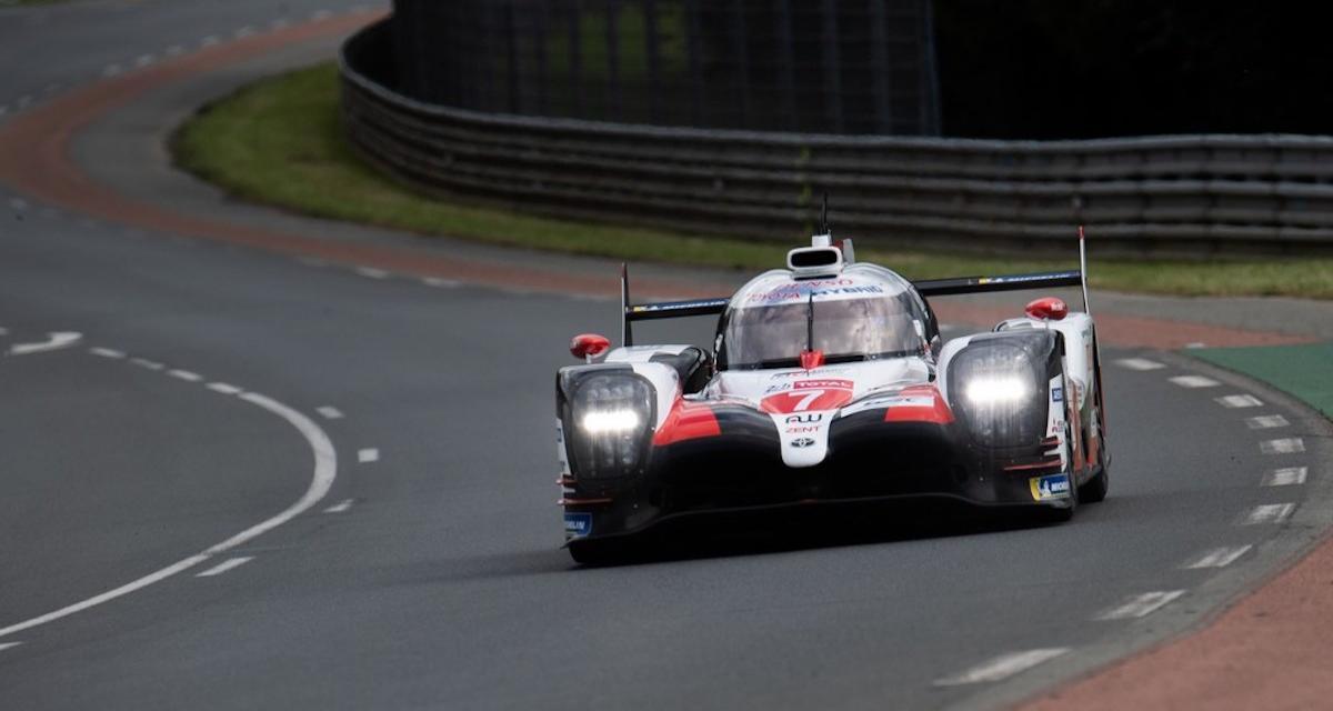 24 Heures du Mans: vidéo de la Toyota n°7 qui percute une Oreca
