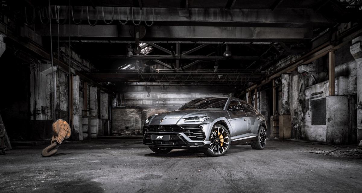 Lamborghini Urus : toutes les photos de la version ABT du SUV