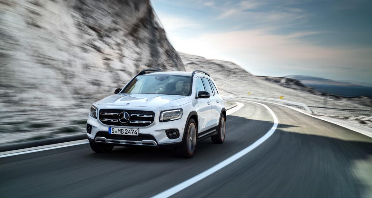 Mercedes Classe GLB : le SUV compact 7 places en quatre points