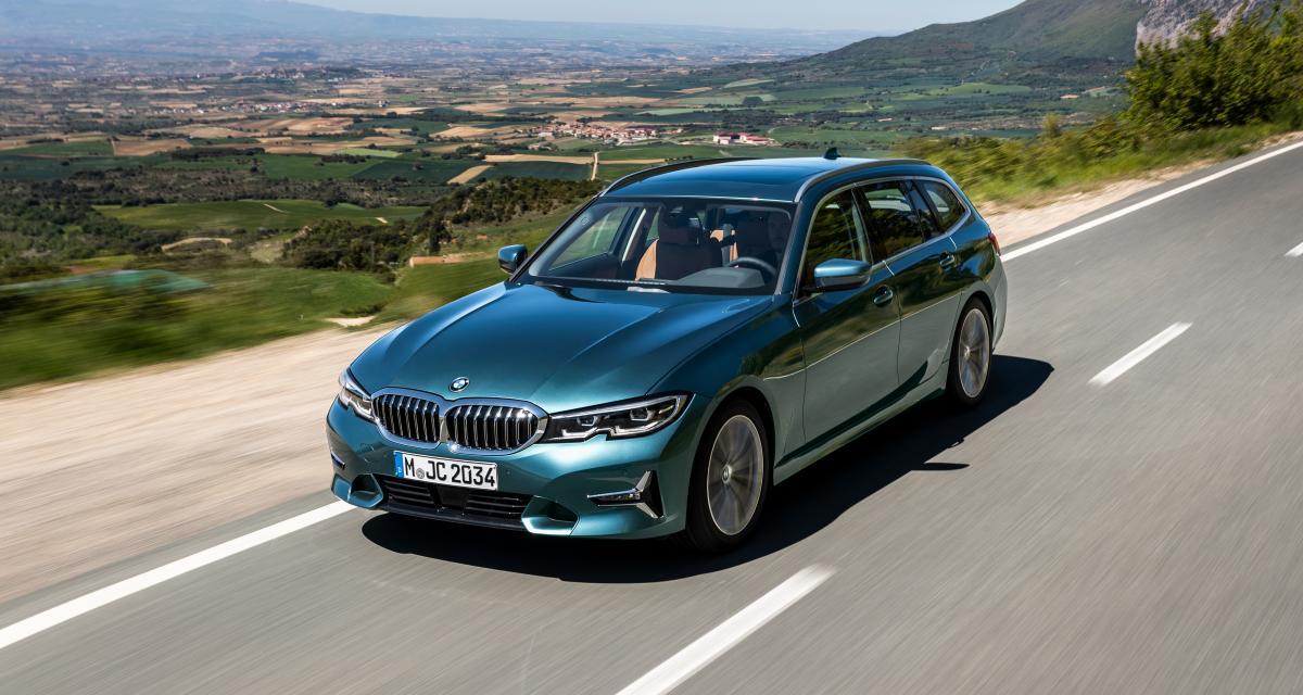 BMW Série 3 Touring : le break à l'hélice en trois points