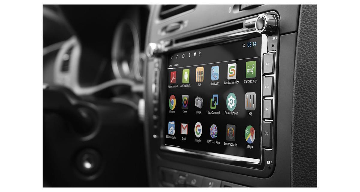 esx d voile un autoradio android plug and play prix attractif pour la golf 6 autonews. Black Bedroom Furniture Sets. Home Design Ideas