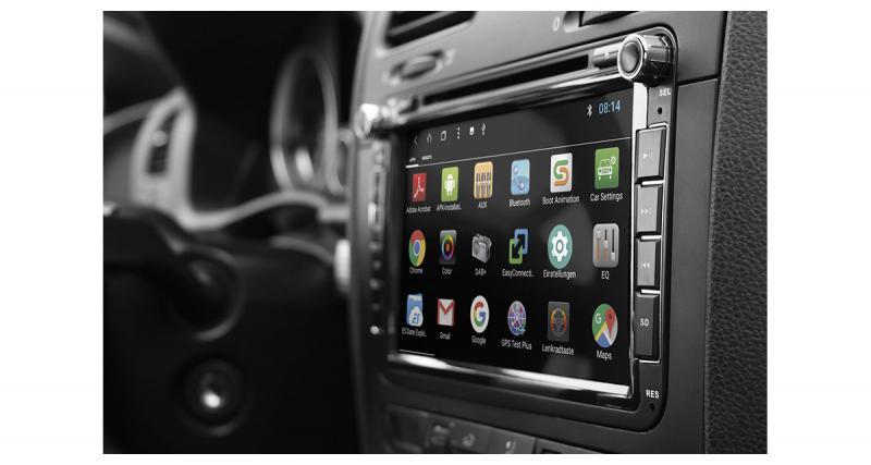 """ESX dévoile un autoradio Android """"plug and play"""" à prix attractif pour la Golf 6"""