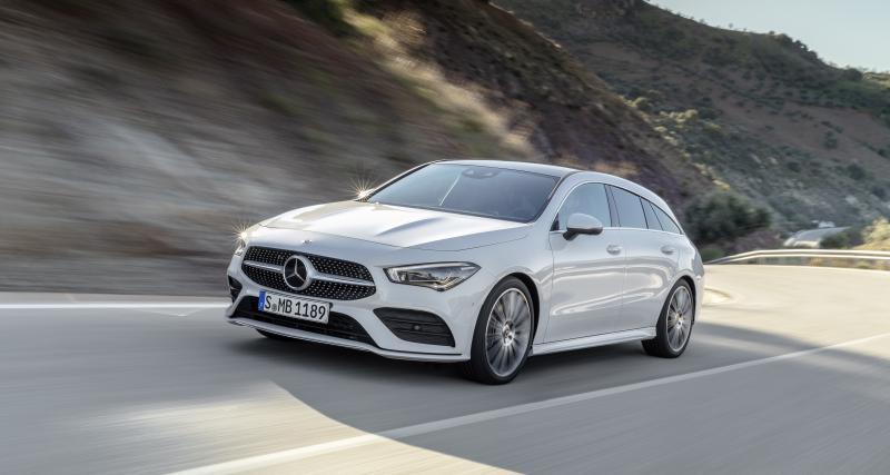 Mercedes CLA Shooting Break : commandes ouvertes, les prix