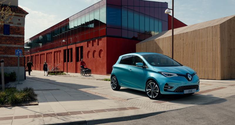 Nouvelle Renault ZOE : la citadine électrique en photos