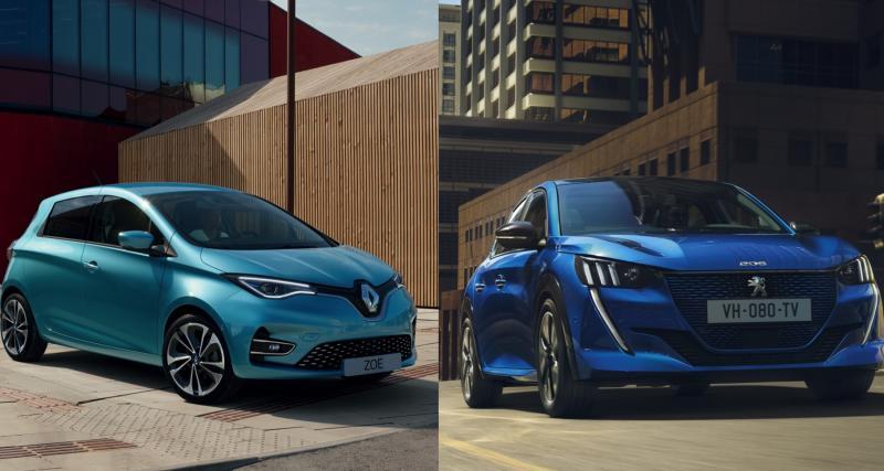 La nouvelle Renault ZOE face à la Peugeot e-208 : le match de l'électrique