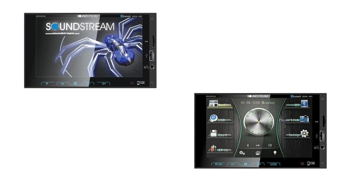 Soundstream commercialise un autoradio multimédia à petit prix