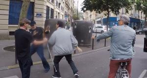 Un aveugle agressé par un automobiliste, son accompagnateur sauvagement frappé (vidéo)