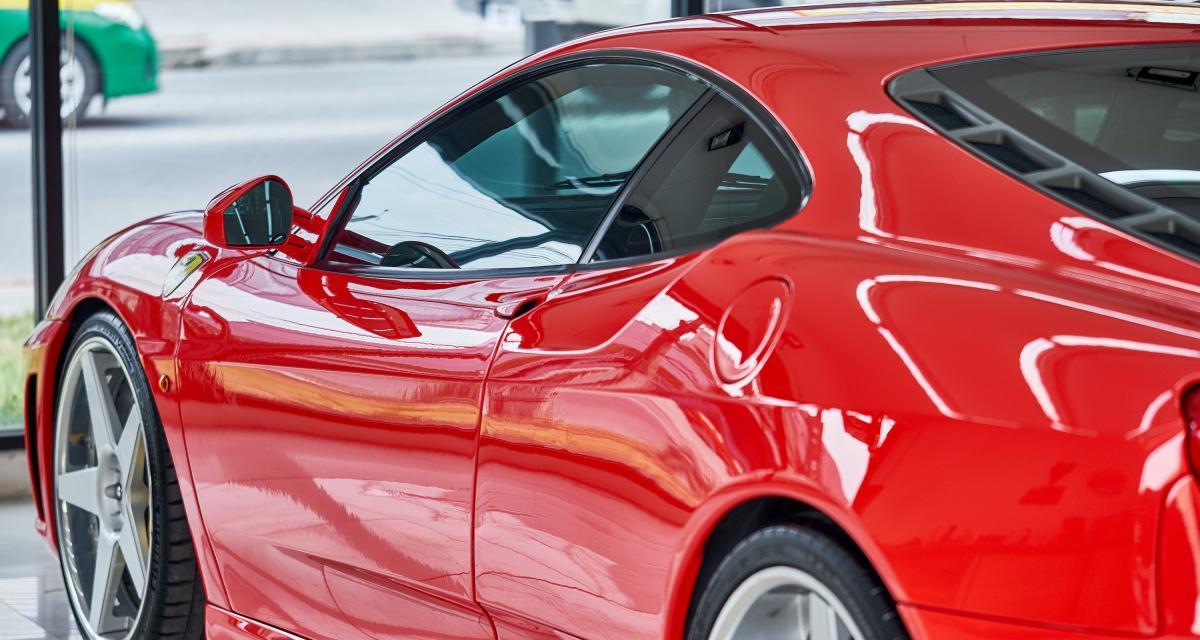 Ça vous plairait de conduire une Ferrari F430 ?