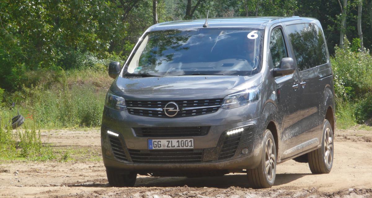 Opel Zafira Life Dangel : toutes les photos de la version 4x4