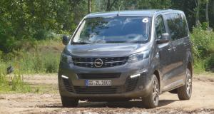 Opel Zafira Life Dangel : toutes les photos de la version 4x4
