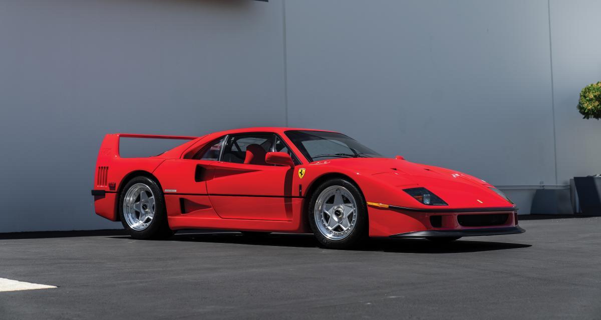 The Ming Collection : 7 Ferrari aux enchères