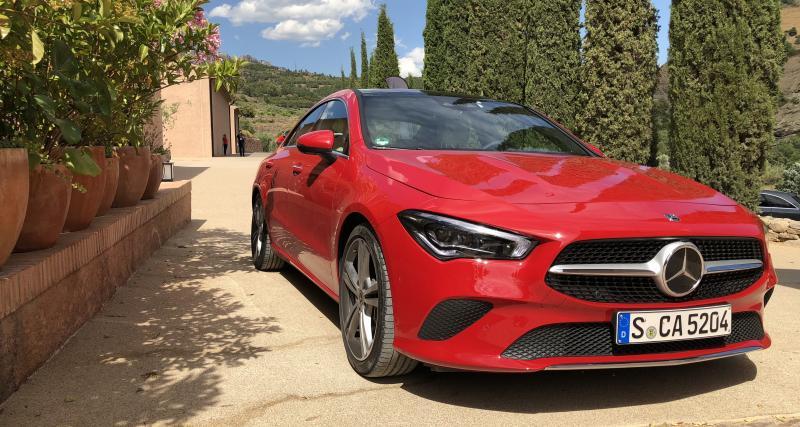 Nouveau Mercedes CLA Coupé 250: les photos de notre essai en Espagne