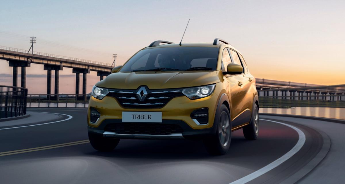 Renault Triber: toutes les photos du nouveau SUV pour le marché indien