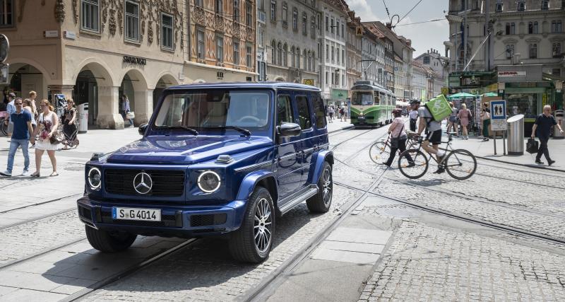 Mercedes Classe G en 4 points : 40 ans de franchissement