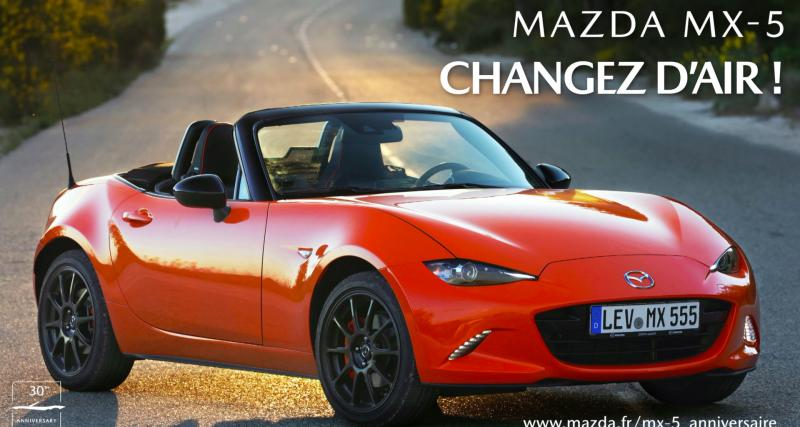 Mazda MX-5 : changez d'air !