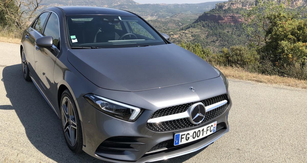 Nouveau Mercedes Classe A Berline 180d : les photos de notre essai en Espagne