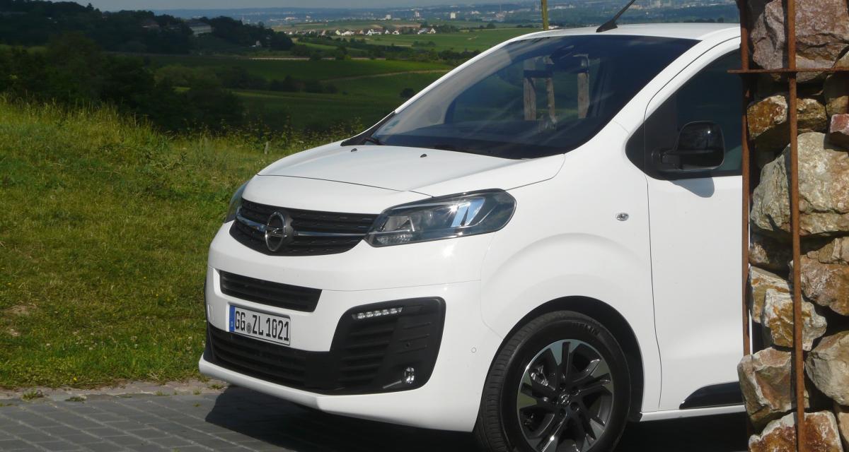 Opel Zafira Life : notre essai en quatre points