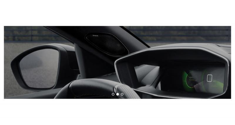 La nouvelle Peugeot 2008 pourra recevoir un système hi-fi premium Focal