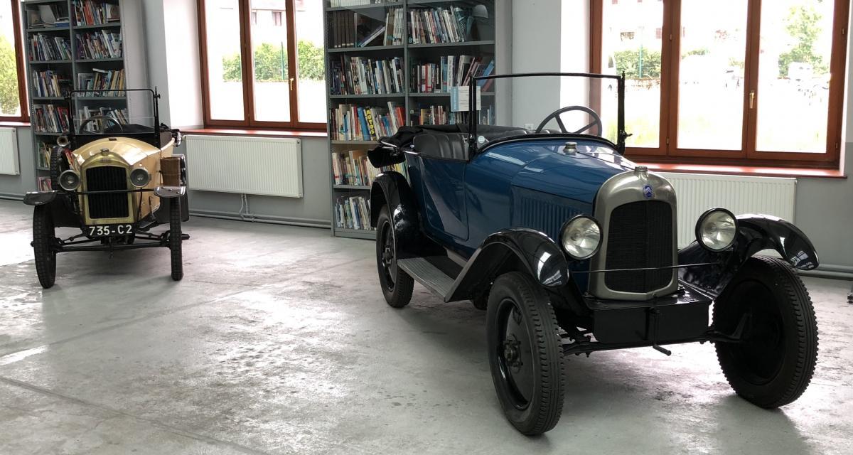 Spirit of France by Peugeot : nos photos de la visite des réserves du musée